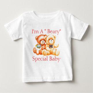 Camiseta del bebé del oso