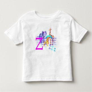 Camiseta del bebé del parque zoológico