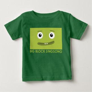 Camiseta del bebé del pelo de BBSS Playeras