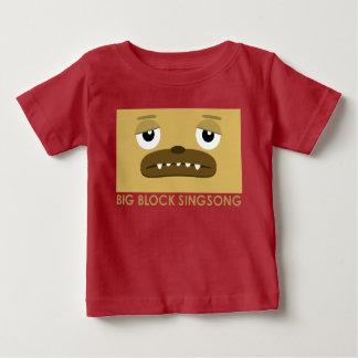 Camiseta del bebé del perro de BBSS Playera