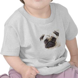 Camiseta del bebé del perro del barro amasado