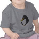 Camiseta del bebé del pingüino