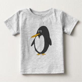 Camiseta del bebé del pingüino playera
