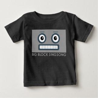 Camiseta del bebé del robot de BBSS