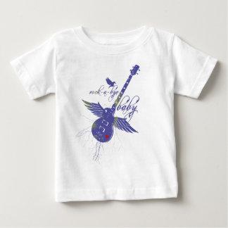 camiseta del bebé del roca-uno-adiós remeras
