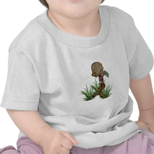 Camiseta del bebé del sátiro