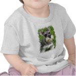 Camiseta del bebé del Schnauzer miniatura