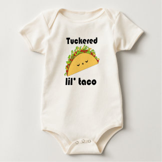 Camiseta del bebé del Taco de Tuckered Lil' Enteritos