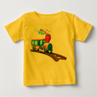 Camiseta del bebé del tren de TuTiTu Polera