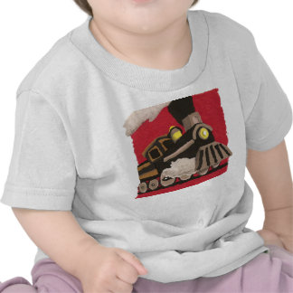 "Camiseta del bebé del ""tren"""