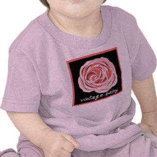 Camiseta del bebé del vintage del bebé de Bija