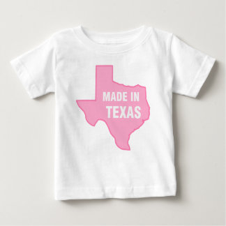 Camiseta del bebé - hecha en Tejas Playeras