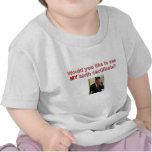 Camiseta del bebé - mi partida de nacimiento