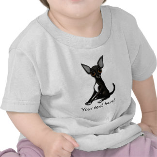 Camiseta del bebé - Squeek la chihuahua