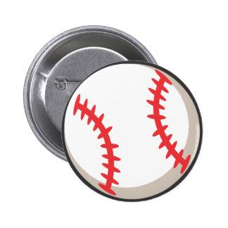 Camiseta del béisbol - camiseta fresca del béisbol pin redondo de 2 pulgadas