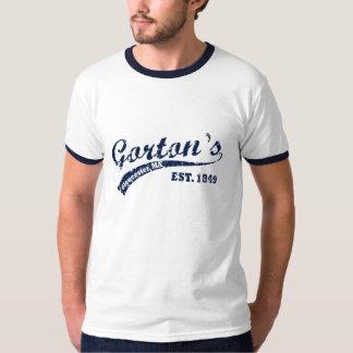 Camiseta del béisbol de Gorton Playera