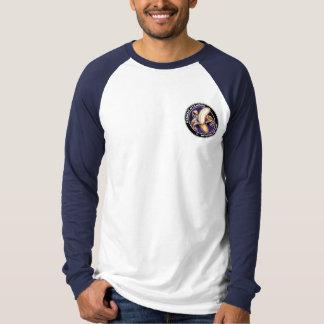 Camiseta del béisbol de Hannah Playera