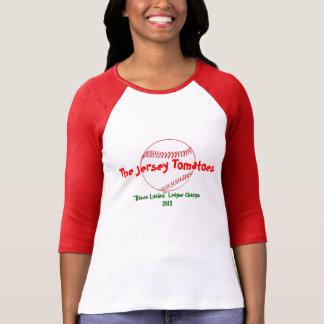 Camiseta del béisbol de la fantasía