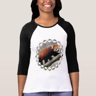 Camiseta del béisbol de la panda roja