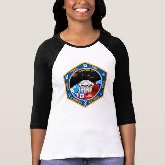 Camiseta del béisbol de las mujeres de HI-SEAS III