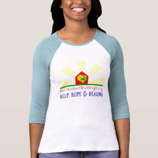 Camiseta del béisbol de las mujeres del socio del
