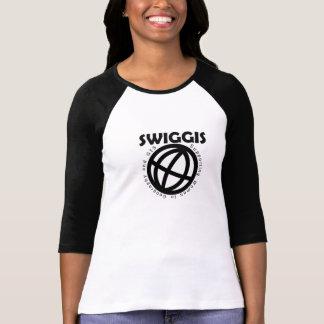 Camiseta del béisbol de SWIGGIS