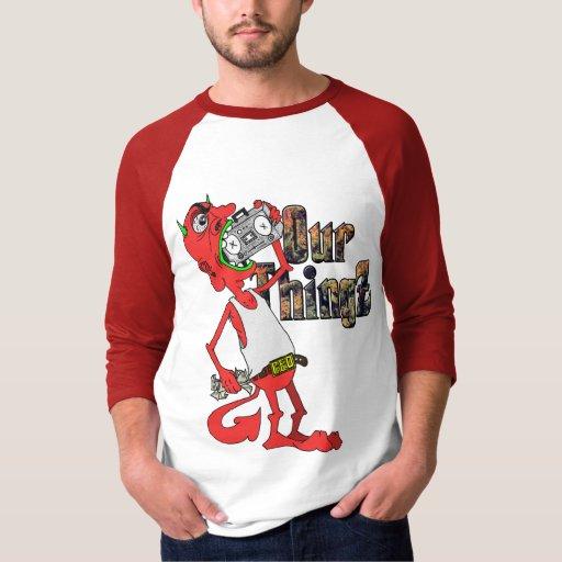 Camiseta del béisbol del diablo rojo de Lil Remeras