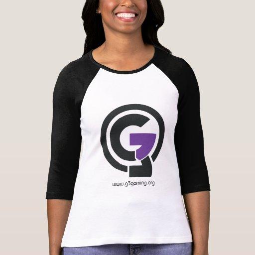 Camiseta del béisbol del juego de G3