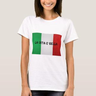 Camiseta del bella del e de Vita del La, para