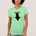 Camiseta del Belly del bebé
