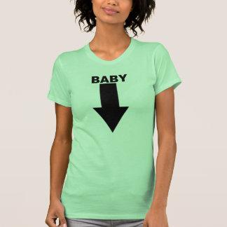 Camiseta del Belly del bebé Playera