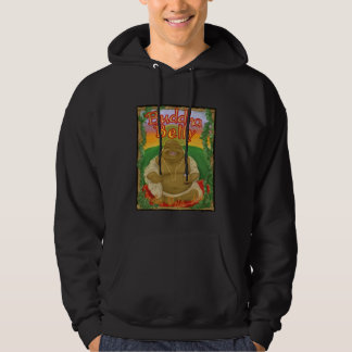 Camiseta del Belly I.P.A. de Buda Pulóver Con Capucha