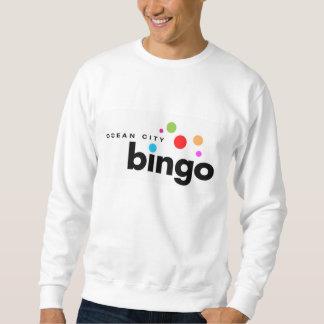Camiseta del bingo de la ciudad del océano sudadera con capucha