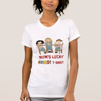 Camiseta del bingo de la MAMÁ Playera