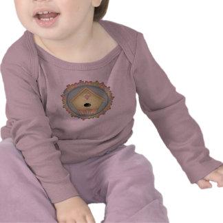 Camiseta del Birdhouse de los niños