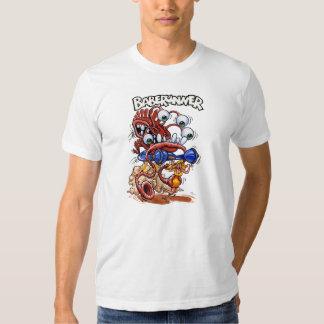 Camiseta del blanco de Baberunner Playeras
