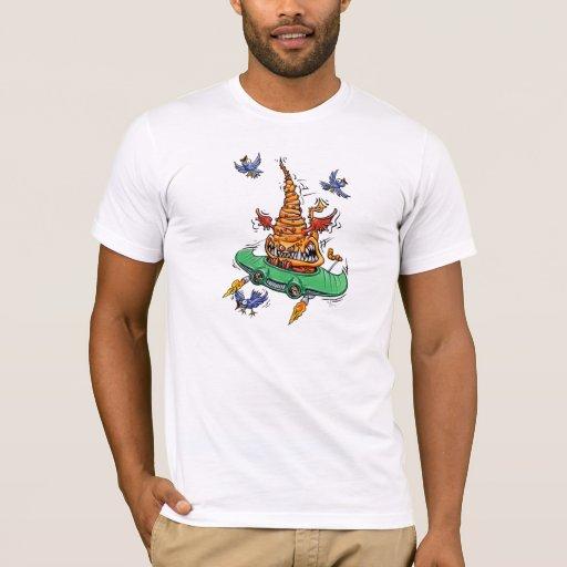 Camiseta del blanco de Beulah del vuelo