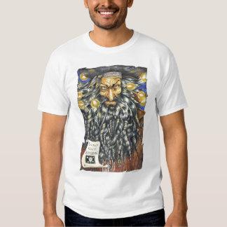 Camiseta del blanco de Blackbeard Remera