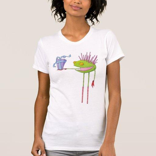 Camiseta del blanco de Cedric del Critter
