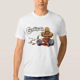 Camiseta del blanco de Chewtabaca Playeras