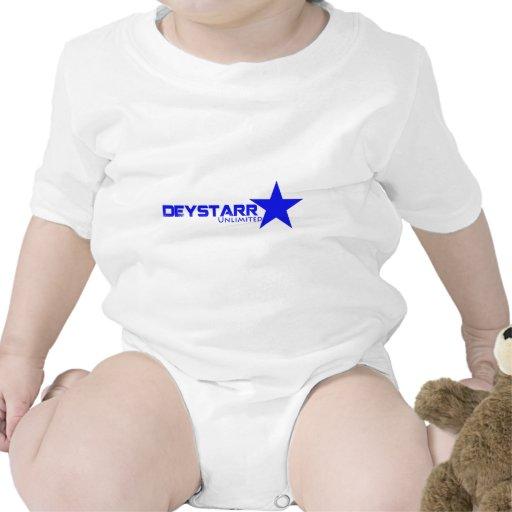 Camiseta del blanco de DeyStarr