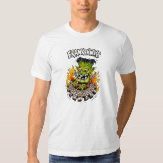 Camiseta del blanco de Frankenwarp Polera