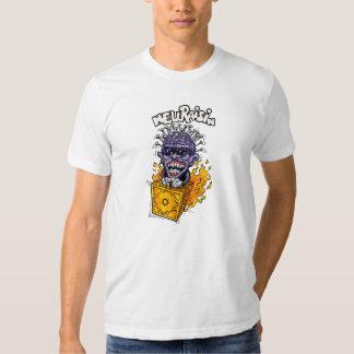 Camiseta del blanco de Hellraisin Camisas