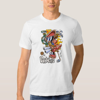 Camiseta del blanco de ParWars Playeras