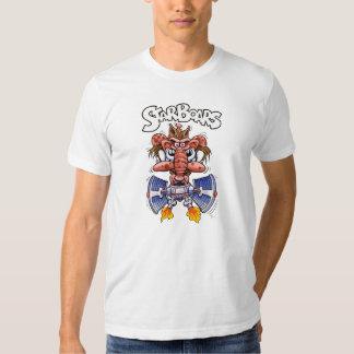 Camiseta del blanco de StarBoars Playera