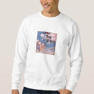Camiseta del blanco de Utopía del cómic Jersey