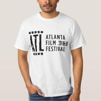 Camiseta del blanco del Fest 365 de la película de Poleras