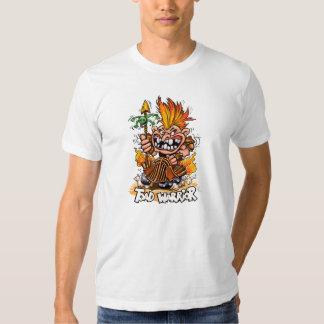 Camiseta del blanco del guerrero del sapo remera