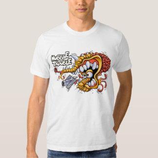 Camiseta del blanco del problema de Hubble Playera