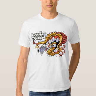 Camiseta del blanco del problema de Hubble Remeras